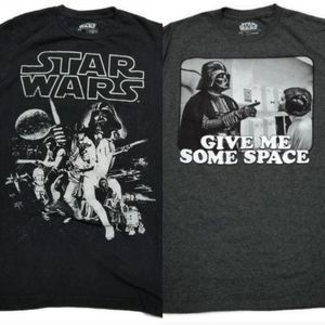 2 Star Wars Graphic Tees Bundle Small
